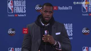 LeBron James On Cavs Went down 0-2 : I Will Never Give Up My Team!