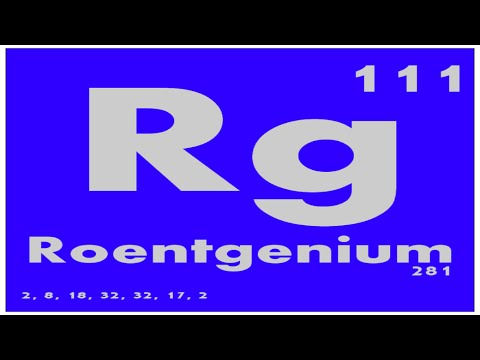 Study guide 111 roentgenium periodic table of elements youtube study guide 111 roentgenium periodic table of elements urtaz Images
