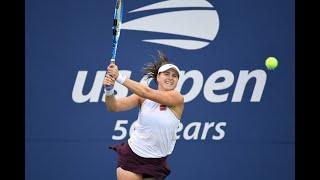 Monica Puig vs. Rebecca Peterson | US Open 2019 R1 Highlights