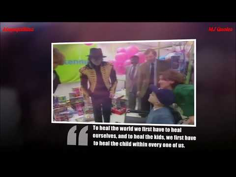 Michael Jackson Quotes for Love and Healing children