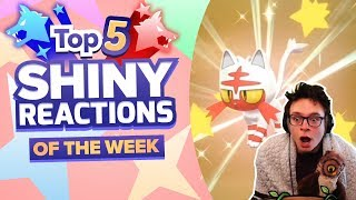 TOP 5 SHINY REACTIONS OF THE WEEK! EPIC REACTIONS Pokemon Sword and Shield Shiny Montage! Episode 17