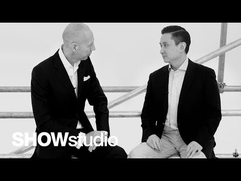 Asian Couture Federation's Frank Cintamani in conversation with Nick Knight
