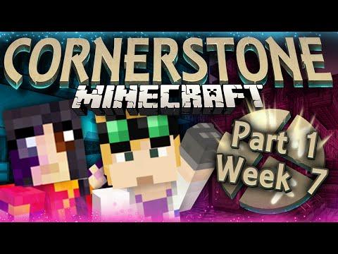 Minecraft Cornerstone - METEOR MINING (Week 7 Part 1)