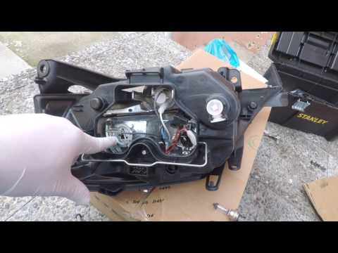 How To Replace The Headlight On Citroen C3