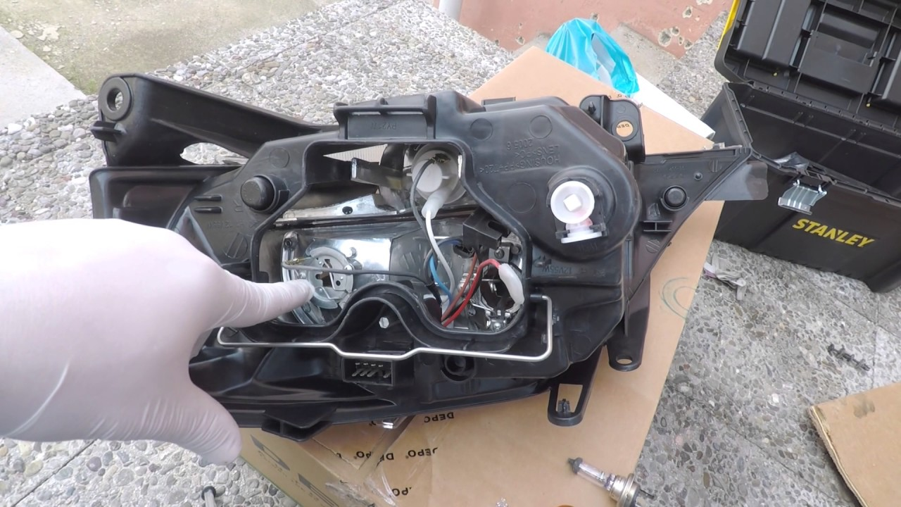 How To Replace The Headlight On Citroen C3 YouTube