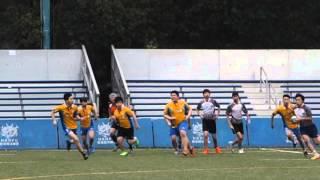 20160123 B grade Rugby 第二場(精華) CTSHKPCC 孔教學院大成何郭佩珍中學 VS HFTC 何福堂 24-0