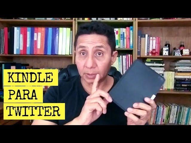 El Kindle sí se puede usar para navegar en Twitter | Navegar en internet con Kindle