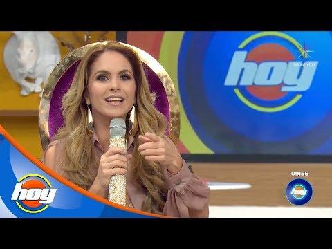 ¡Lucero madrina de la nueva temporada de HOY!