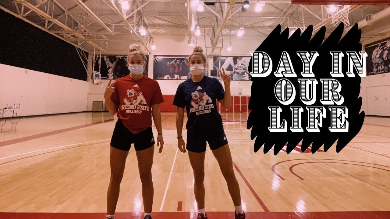 A DAY IN OUR LIFE AS D1 ATHLETES **IN COVID** I CAVINDER TWINS