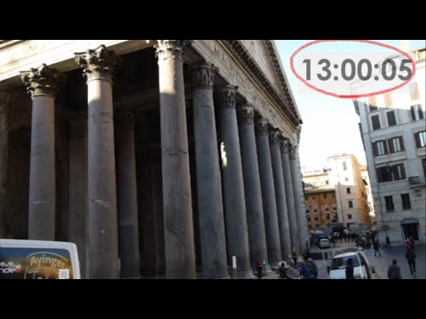 Walking from Hotel Accademia to Pantheon (Rome, Italy)