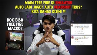 Bahas Masalah Macro Free Fire Di Pc !!! Emulator !!