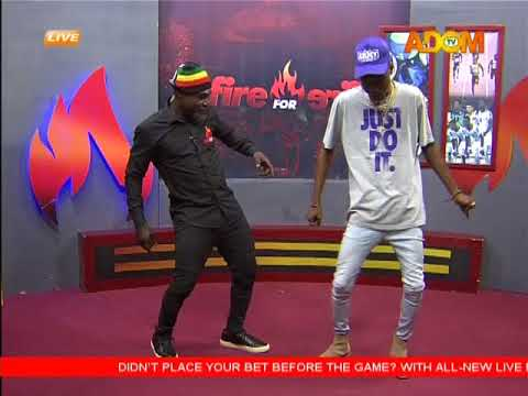 Dadie Opanka on Set With Countryman Songo - Fire 4 Fire on Adom TV (1-12-17)