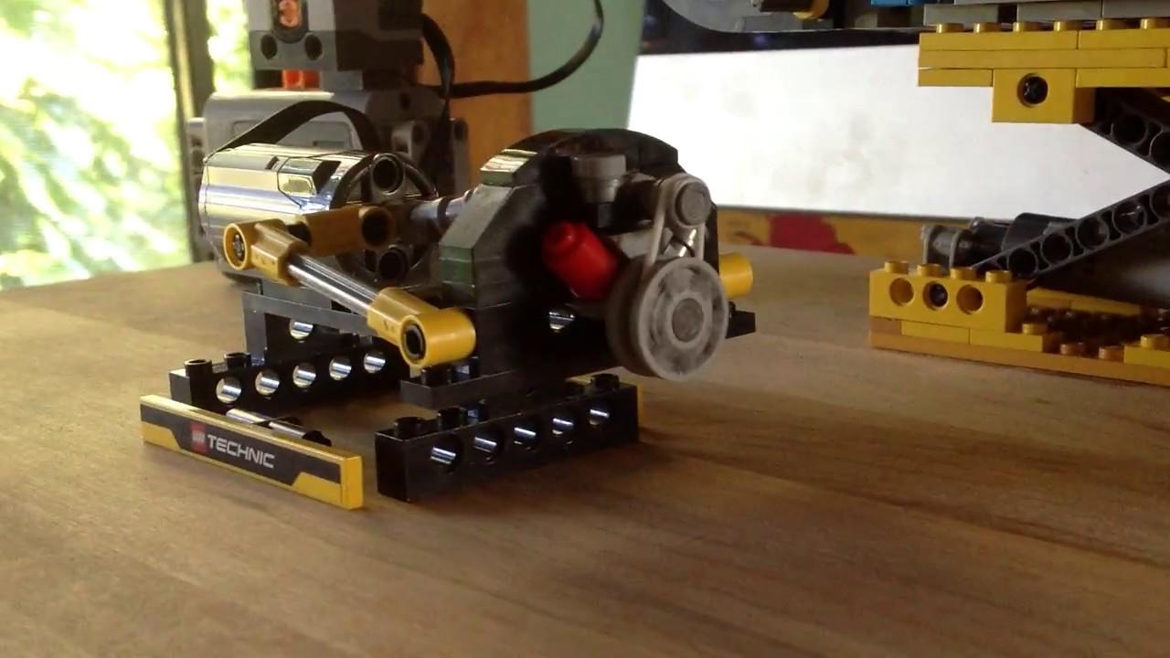 Lego Technic Dyno For Vw Beetle Creator Set Engine Youtube