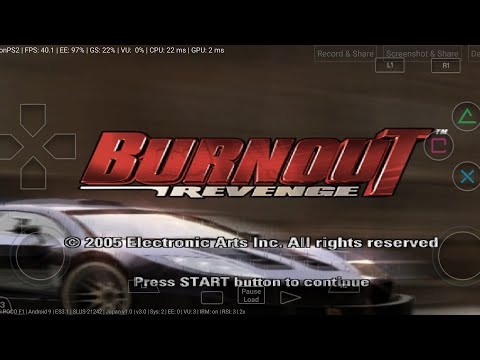 Burnout Revenge Damon Ps2 3.0 In Poco F1 Test