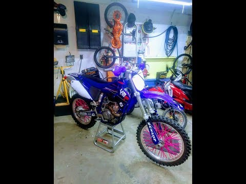 Yz250f graphics kit installed.