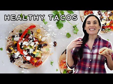 Southwestern Roasted Veggie Tacos I Week 16 Taco Tuesday Cookbook