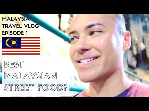 BATU CAVES + MALAYSIAN STREET FOOD TOUR | KUALA LUMPUR MALAYSIA TRAVEL VLOG 2018 | EPISODE 1