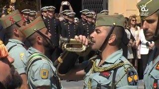 Semana Santa Málaga 2016 - Traslado del Cristo de la Buena Muerte (Mena) Desembarco de la Legión