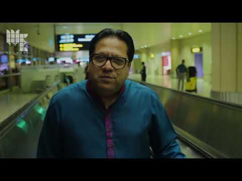 Arshad Mehmood Welcome at Riyadh Airport.