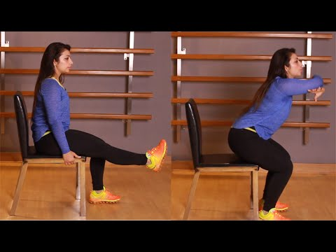 Chair Workout - Full Body Workout for Women