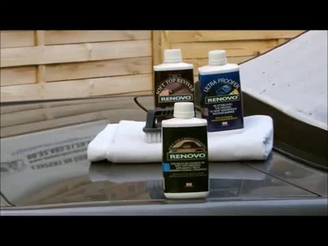 Cabriolet // L'expert du cabriolet // Démo entretien capote alpaga