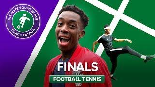 FOOTBALL TENNIS FINALS W/ MANNY, REBEL FC & CHEEKYSPORT