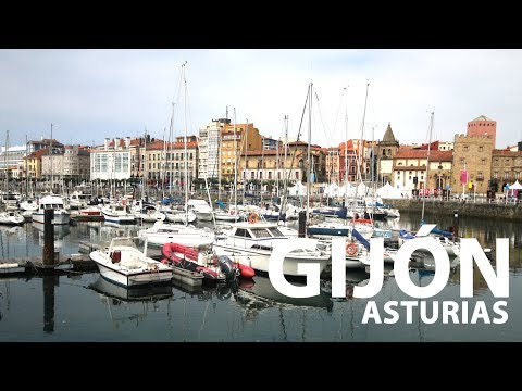 Video about Places of interest in Gijón
