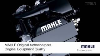 MAHLE exhaust gas turbocharger animation
