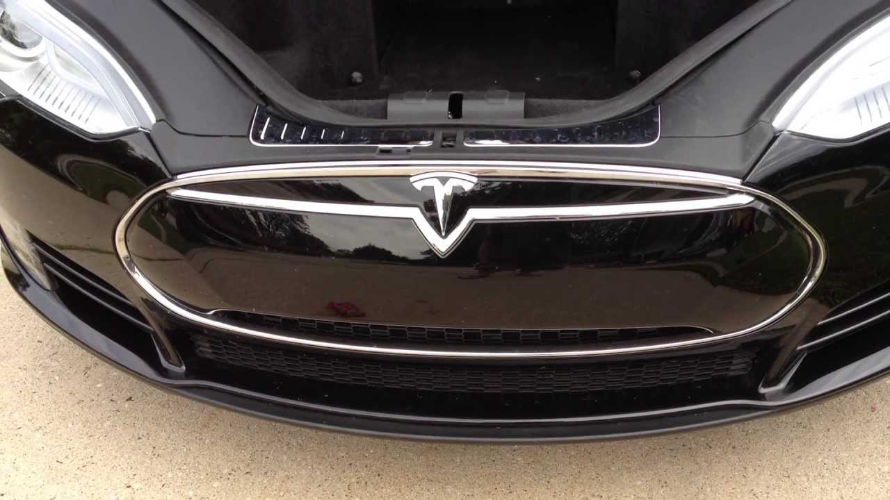 Tesla Motors Model S Part 32 Of Many Nosecone Removal