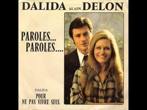 Dalida & alain delon - paroles paroles Karaoke 38
