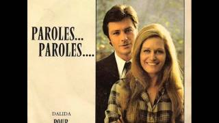 Dalida & alain delon - paroles paroles Karaoke 38