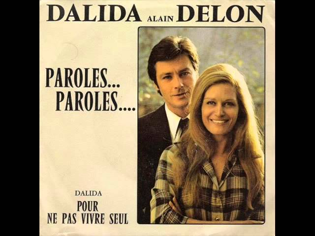 Dalida Alain Delon - paroles paroles Karaoke 38