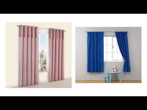 Cool Nursery Curtains with Blackout Lining For Clean Window