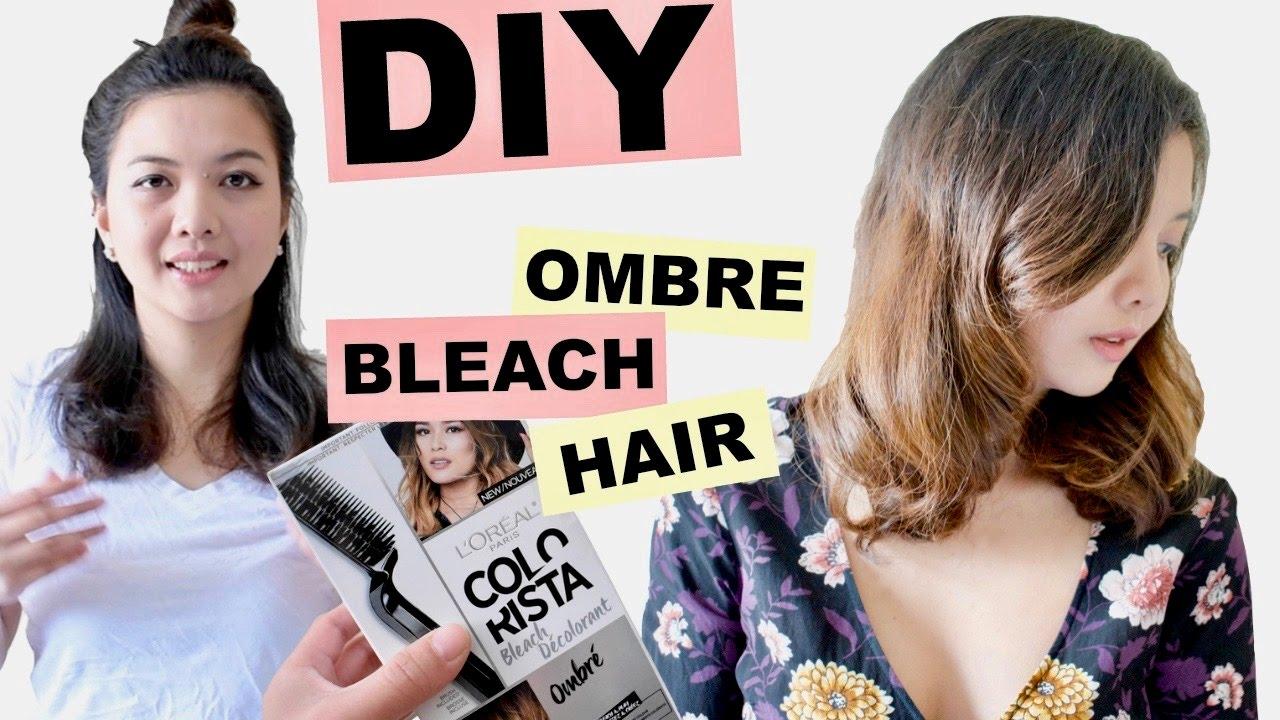 Colorista Ombre Bleach Diy Youtube