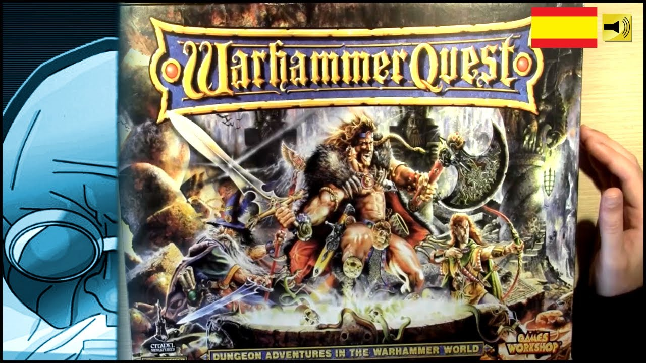 Juego De Mesa Tablero Warhammer Quest Analisis Youtube