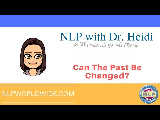 Can the Past be Changed?