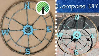 Dollar Tree Compass DIY