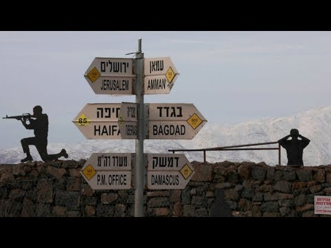Might Makes Right: Trump Endorses Israeli Annexation of Golan Heights