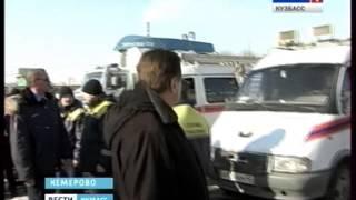 В Кемерове проверили  готовность оперативных  и аварийных  служб  к паводку(Сегодня в столице Кузбасса проверили готовность оперативных и аварийных служб к весеннему половодью...., 2014-03-20T09:57:14.000Z)