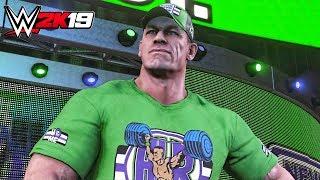 WWE 2K19 - John Cena & Kurt Angle Official Entrances!