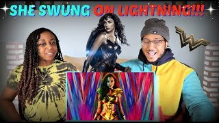 """Wonder Woman 1984"" Official Trailer REACTION!!"