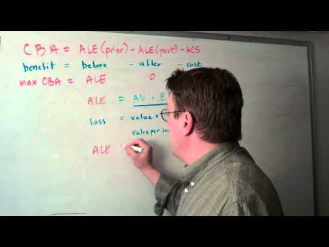 Information Security Equation Question: ALE = AVEF x