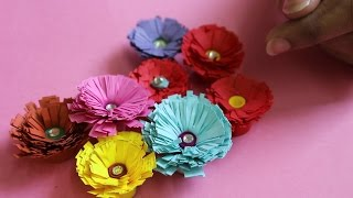 How to Make Decorative Quilling Flowers
