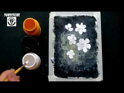 Easy and Simple Flowers Painting Ideas for Beginners
