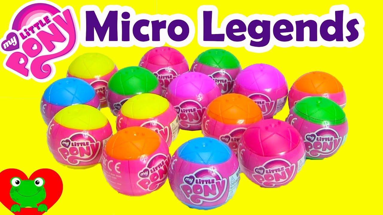 My Little Pony Micro Legends Clear MLP Main 6 Surprise Ball