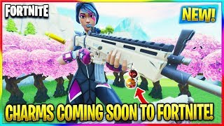 FORTNITE: *NEW* CHARM COSMETIC COMING SOON! LEAKED INFO! | Fortnite Season 10 News