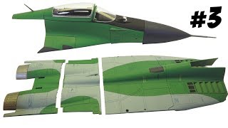 Фюзеляж МИГ 29, сборка самолёта Деагостини #3