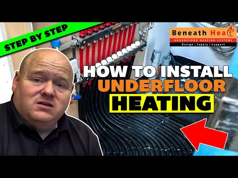 UNDERFLOOR HEATING -  step by step guide