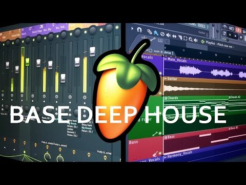 FL Studio Tutorial: Base Deep House (Al estilo Disclosure) [FREE FLP]
