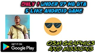 BEST GTA 5 LIKE ANDROID GAME IN PLAYSTORE